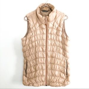 {ATHLETA} Downtime Goose Down Puffer Vest